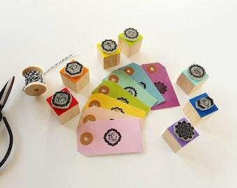 CHAKRAS Rubber Stamps SET. Chakras Rubber Stamps. Chakras Stamps. Seven Chakras Stamps. Chakras Stamps Set. Seven Chakras Stamps Set.