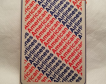 1970's USPCC American Airlines Bridge Size Playing Cards – Sealed, Unopened