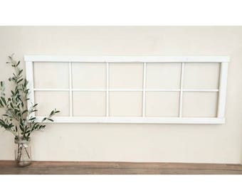 Window Frame - Faux Window Frame - Large window frame - Long Window Frame