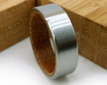 Bamboo Ring, Exotic Wood Ring, Segmented Timber, Wood Design, Asian Influenced, Bamboo Wood Ring, Grand Junction Guy, Wedding Band, Handmade