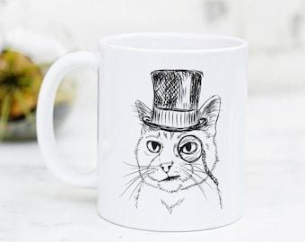 Sir Alfred the Cat Mug
