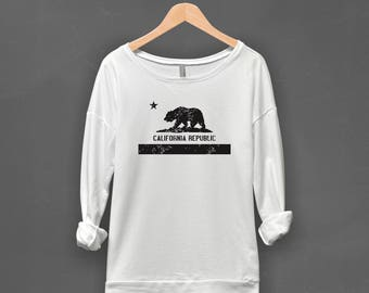 California Shirt | California Republic, California Pullover, Womens Pullover