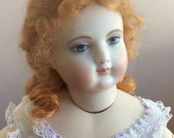 SOLD!  Antique Huret Reproduction Gisele Doll