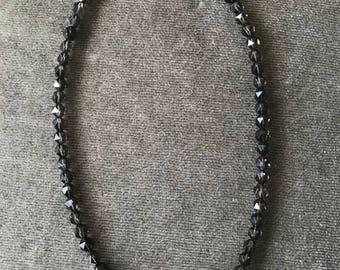 Smoky and Rose Quartz Necklace