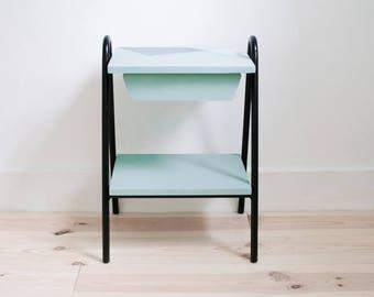 Germain revisited bedside *-base metal - VINTAGE - recycled furniture
