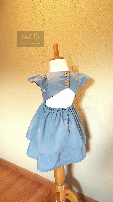 Girls Dress, party dress, Fall dress, Flower girl Dress, sunday ...
