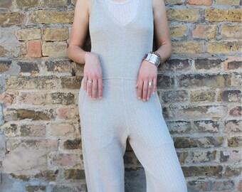 Hemp Knitted Bodysuit, Woman, Organic Fashion, Handmade, 100% Hemp