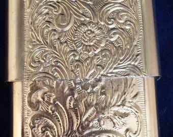 Cavalier Products USA Aluminum embossed Cigarette Case