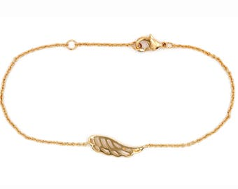 Bracelet plated wing gold guaranteed 10 years