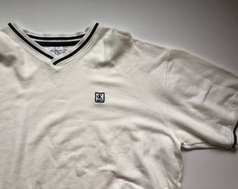 Calvin Klein Black and White Tshirt