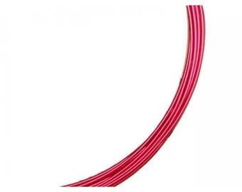 5 m aluminum diameter 1 mm red color