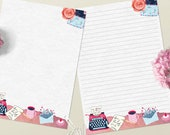 Typewriter - DOWNLOAD file - Printable Writing paper - A5 size