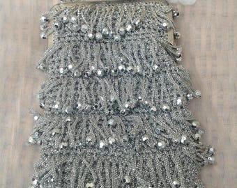 Original Vintage 1960's Flapper Style Evening Bag *RESERVED*
