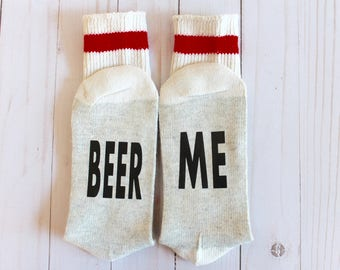 Beer me Socks - Novelty Socks - Wool Socks