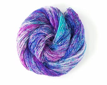 Pixie Dust, Hand Painted Indie Dyed Yarn