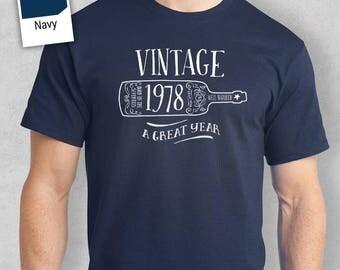 40th Birthday, 1978 Shirt, 1978 Legend. Men's T-Shirt, 40th Birthday Gift, 40th Birthday Idea, 40 Birthday Present, 40 Birthday Gift!