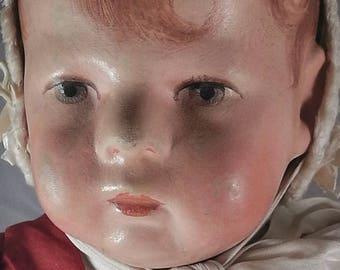 Antique Kathe Kruse doll I / Kaehte Kruse Puppe I / girl