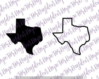 Texas SVG | Texas outline SVG