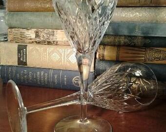 Miller Rogaska Crystal Goblets Set of 2
