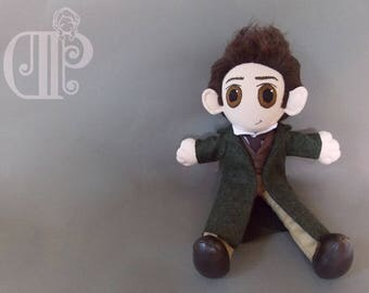 Jean Valjean Les Miserables Plush Doll Plushie Toy Hugh Jackman
