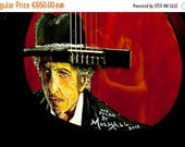 ON SALE Bob Dylan Guitar by William Mulhall