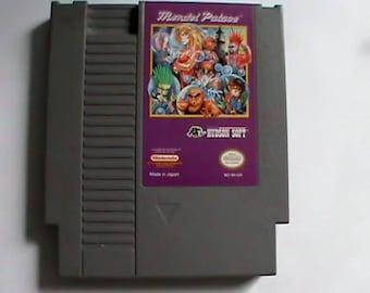 Original used vintage NES game cartridge Mendel Palace, Tested working.