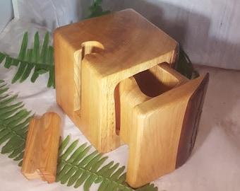 Cypress Wood puzzle box