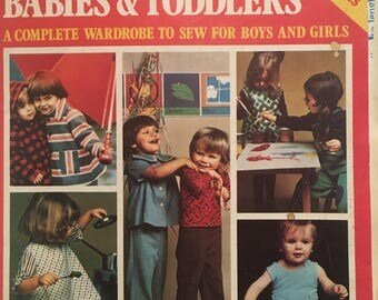 Golden Hands. 1975. Patterns for Babies & Toddlers, with patterns.