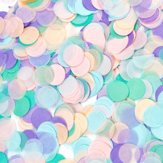 Mythical Tales Confetti, Lavender Pink Confetti, Shred, Table Decor, Confetti Balloon, First Birthday, Unicorn Decor, Baby Shower, Magical
