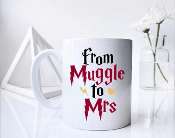 SET - From Muggle to Mrs - From Muggle to Mr - Hp Couple - Printed DUO