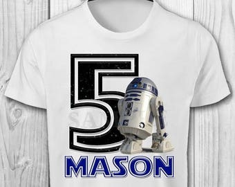 Star Wars Iron On Transfer Image - Star Wars Printables - R2D2 Iron On Transfer Image - R2D2 Iron On Shirt