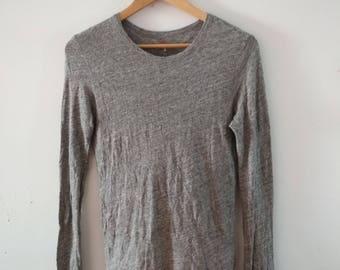 Rare Vintage 45rpm Long Sleeve Tshirt Size S