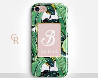 Personalised Banana Phone Case For iPhone 8 iPhone 8 Plus iPhone X Phone 7 Plus iPhone 6 iPhone 6S iPhone SE Samsung S8 iPhone 5 Custom Case