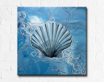 Sea Scallop - Original Painting