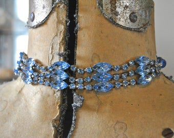 Something Blue Choker