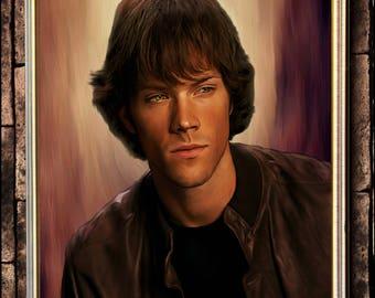 Sam Winchester portrait