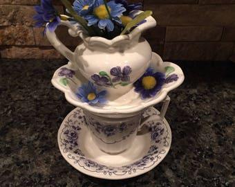 Tea Party Centerpiece / Mad Hatter / Alice in Wonderland