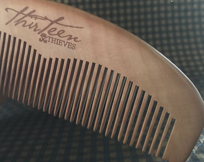 Handcrafted Anti-static Beard Comb