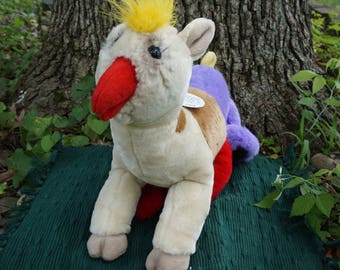 France. FrankenFuzzie, Soft Sculpture, Stuffed Animal, Toy