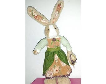 Vintage Stuffed Bunny,Stuffed Rabbit,Bunny Plushie,Rabbit Plushie,Peter Cottontail,Rabbit,Bunny,Easter,Plushie,Rabbit Plush,Anthropomorphic