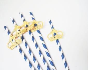 Royal Prince Crown Straws