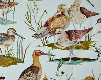 Ducks Valance / Custom Boutique Window treatment Curtain / Bathroom, Bedroom, Living room, Sun room
