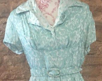 Vintage dress. Size 10.