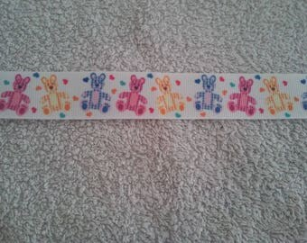 Bear Ribbon (50cm) 22mm