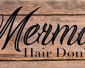 Mermaid Hair I don't Care