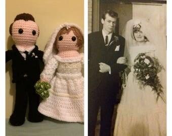 CUSTOM Personalised Crochet Doll