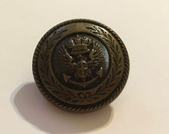 "Vintage German Uniform 7/8"" Button"