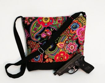 Last Symphony In hue! Concealed Carry Gun Purse With Symphony In Hue