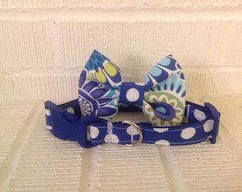 Dog Bow and Collar set