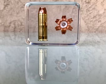 Before/After .44 Magnum Display Piece - Fantastic Display/Educational/Conversation Piece